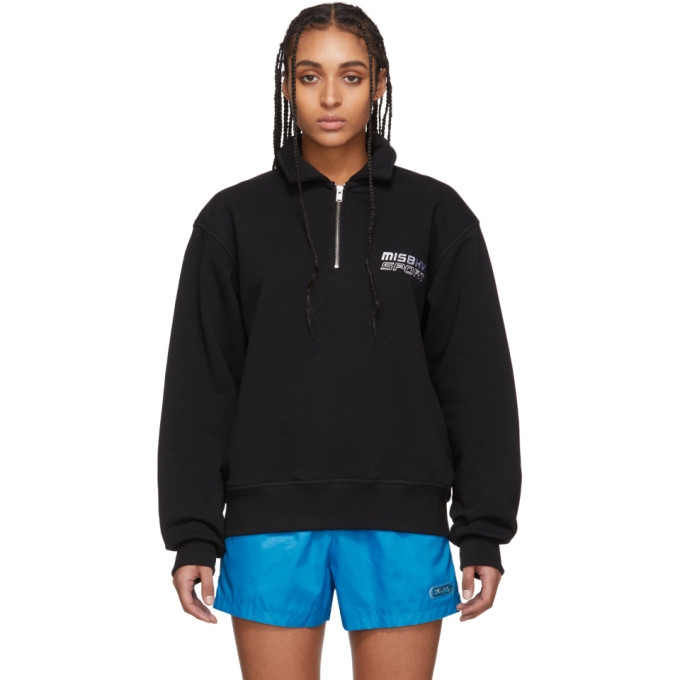 Photo: MISBHV Black MISBHV Sport Quarter-Zip Sweater