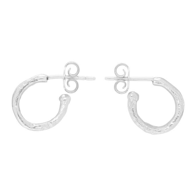 Photo: Alighieri Silver The Morning Hour Hoop Earrings