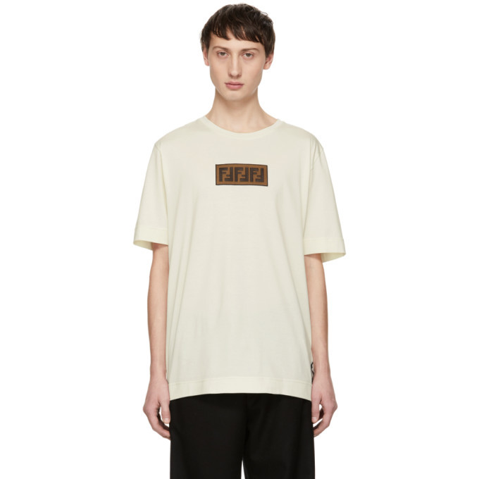 Photo: Fendi Off-White Forever Fendi Patch T-Shirt