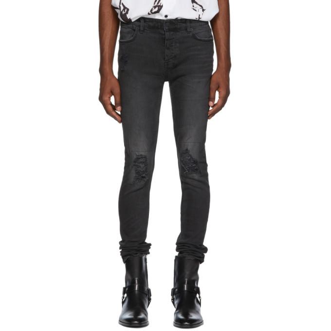 Ksubi Black Van Winkle Snake Eyes Jeans