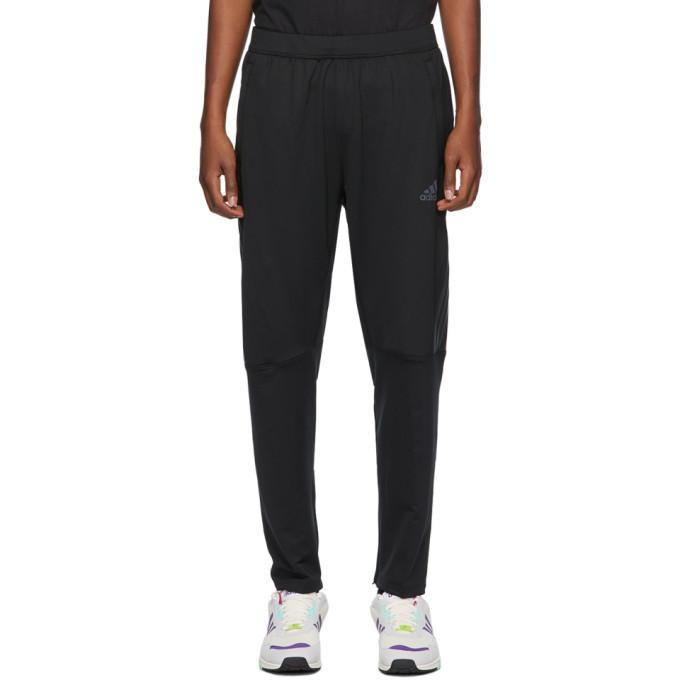 adidas Originals Black Aeroready 3-Stripe Cold Weather Lounge Pants