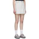 Acne Studios Blue Bla Konst Denim Sky Miniskirt