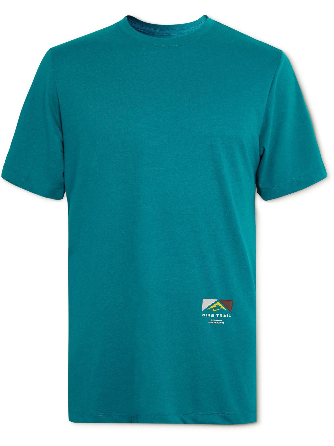Photo: Nike Running - Trail Dri-FIT T-Shirt - Blue