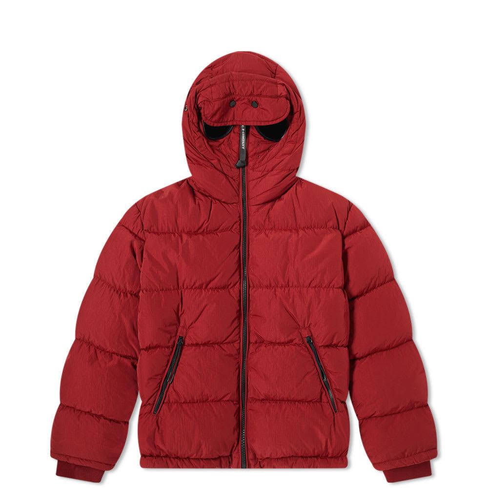 Photo: C.P. Company Undersixteen Goggle Hooded Zip Down Jacket