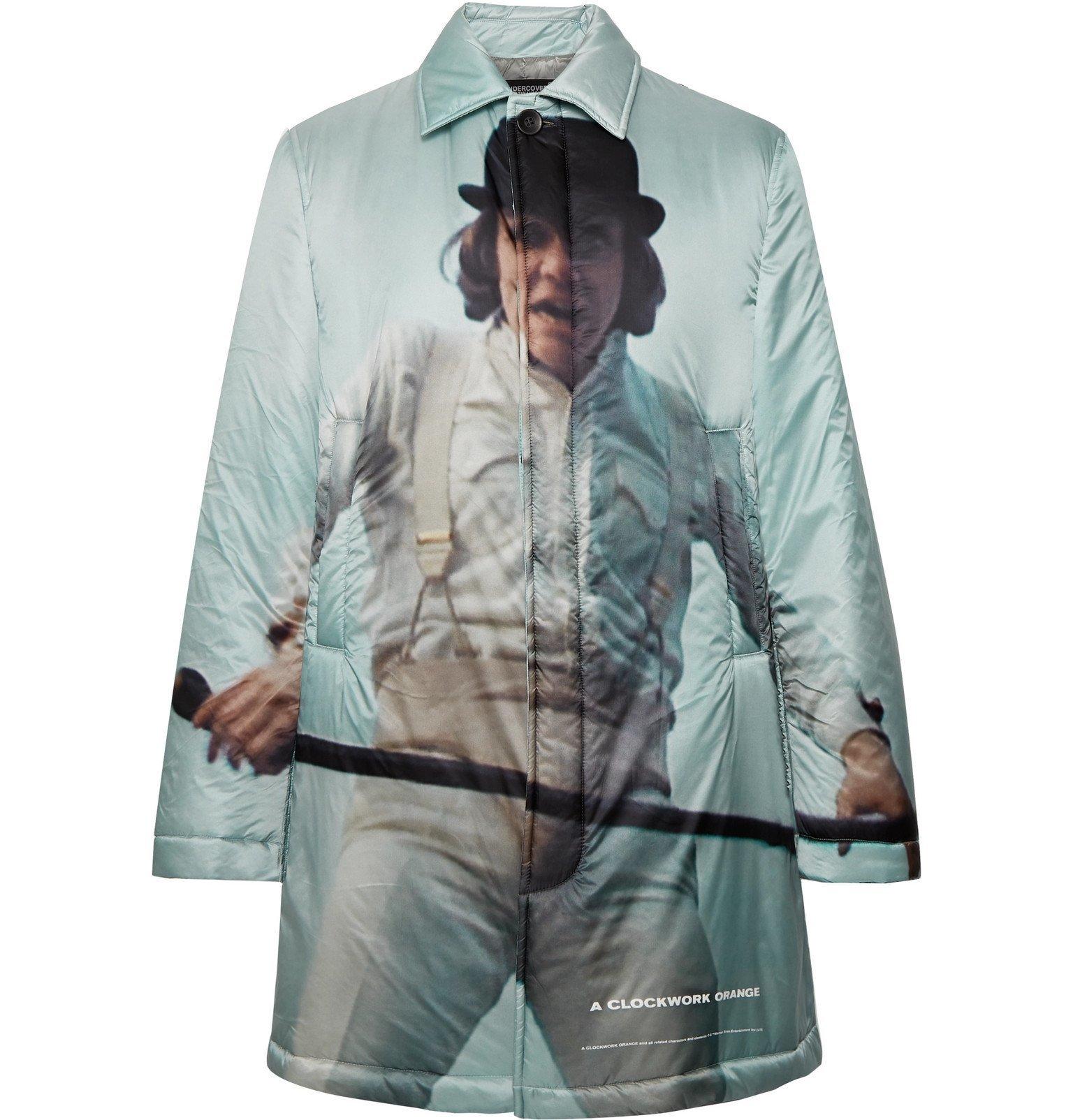 Photo: Undercover - Printed Nylon Jacket - Gray