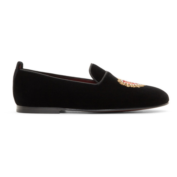 Photo: Dolce and Gabbana Black Young Pope Loafers