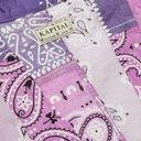 KAPITAL - Kakashi Patchwork Bandana-Print Cotton-Gauze Shirt - Purple