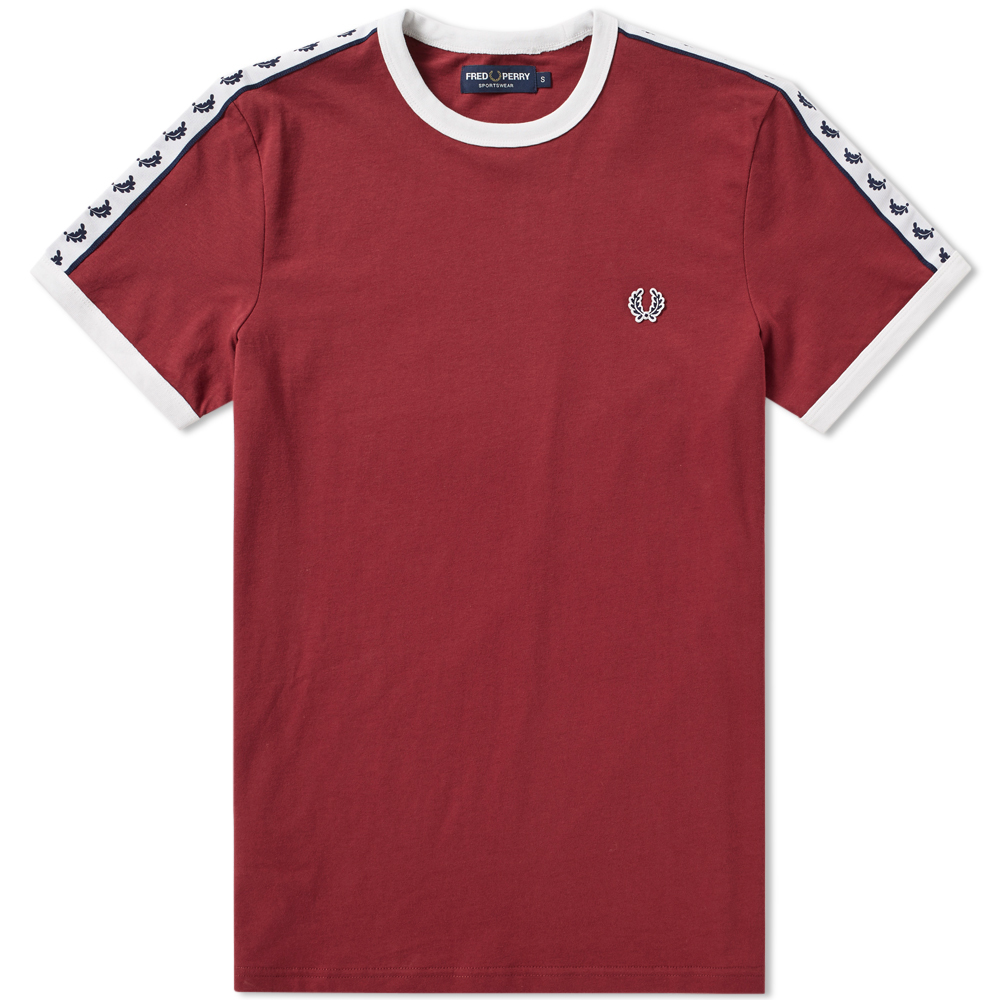 Photo: Fred Perry Taped Ringer Tee