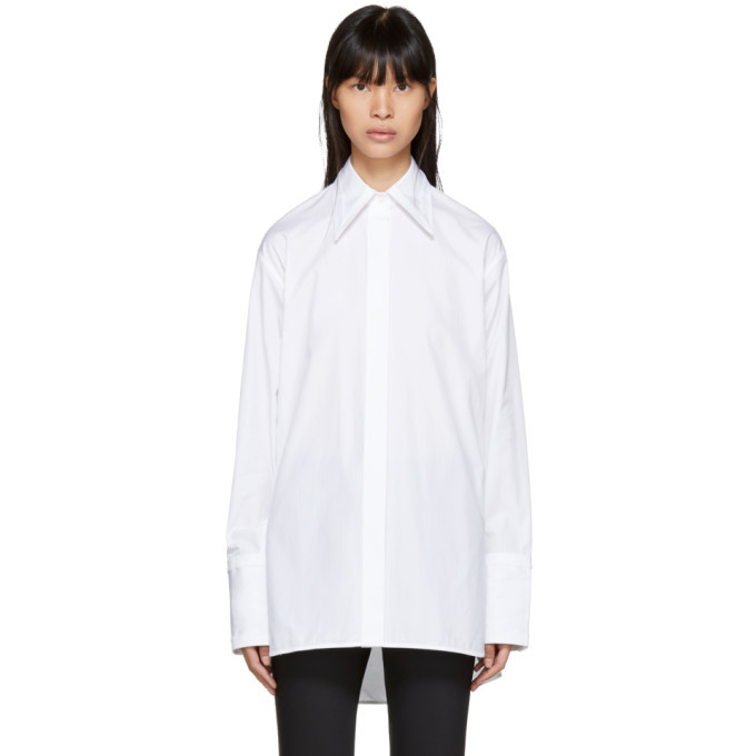 Photo: Helmut Lang White Cut-Out Shirt