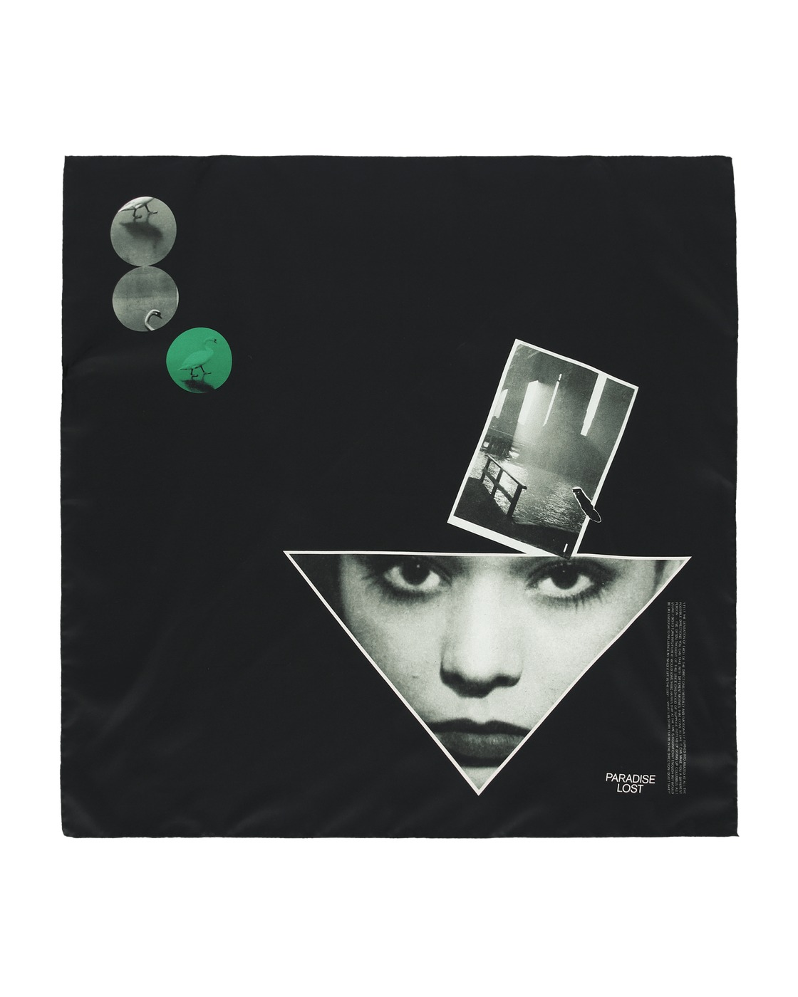 Photo: Oamc Collage Foulard Black