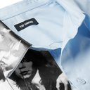 Raf Simons - Printed Cotton-Poplin Shirt - Light blue