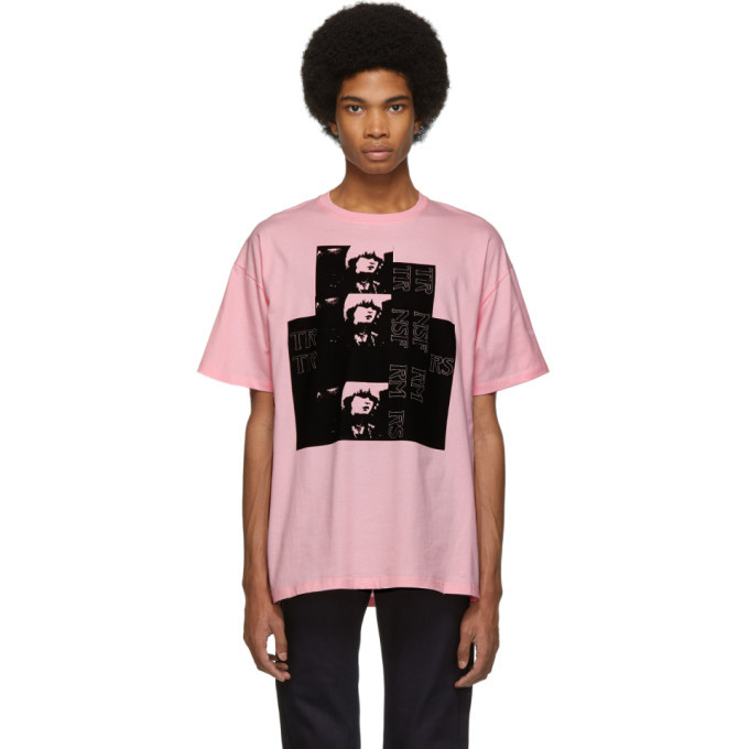 Raf Simons Pink Toya T-Shirt
