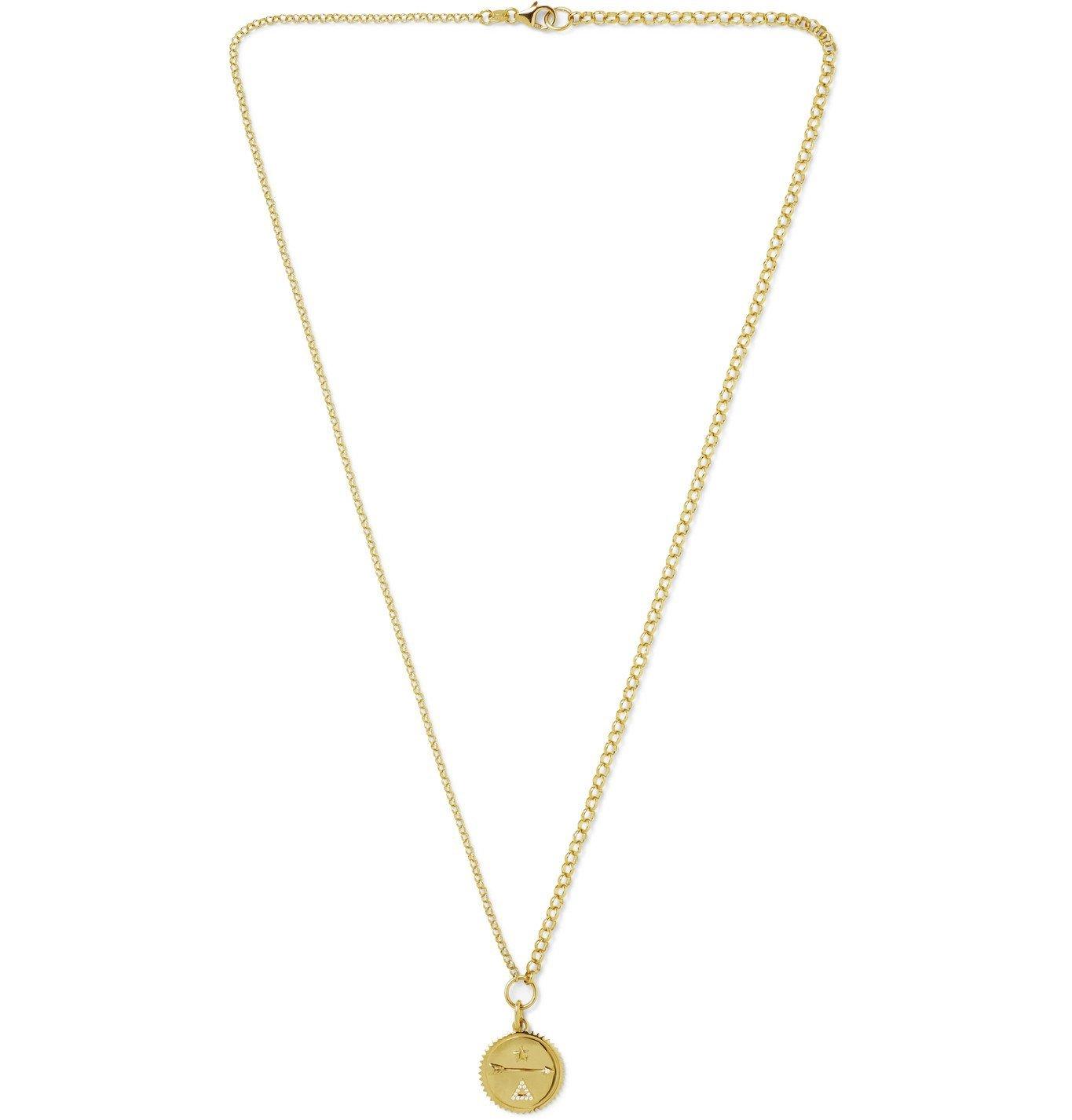 Photo: Foundrae - Dream 18-Karat Gold Diamond Necklace - Gold