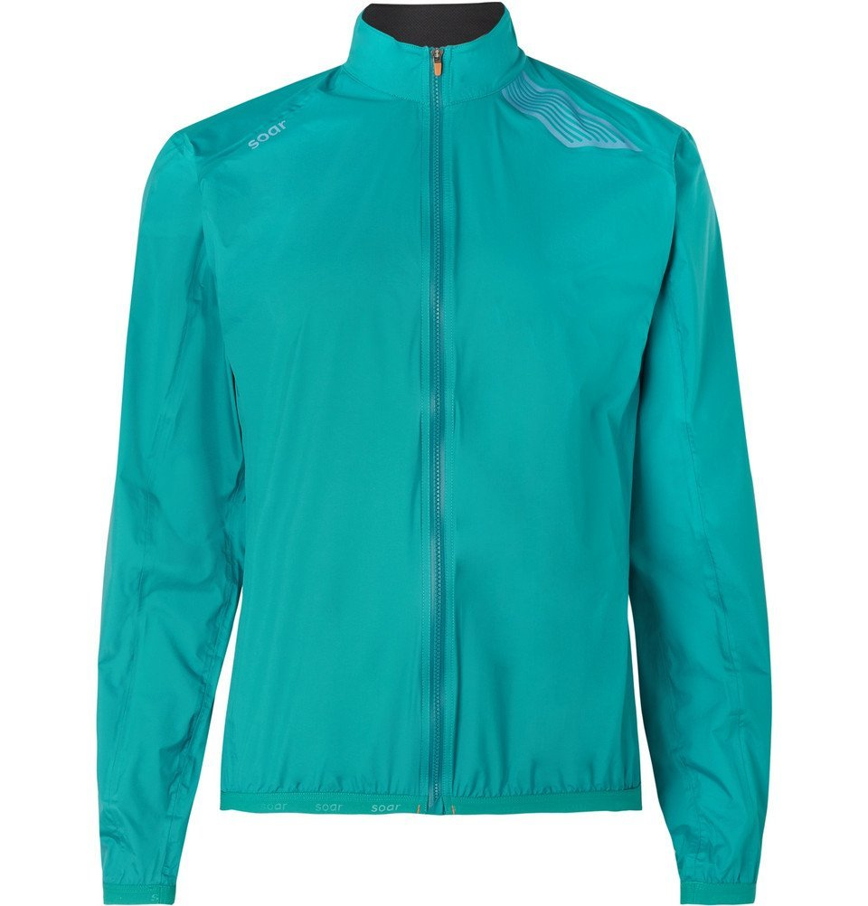 Photo: Soar Running - Ultra Rain 2.0 Jacket - Teal