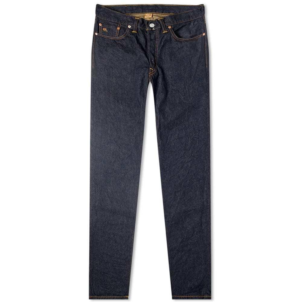 RRL Low Straight Jean