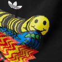 adidas Originals - Printed Fleece-Back Cotton-Blend Jersey Hoodie - Black