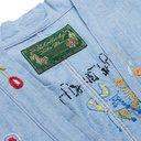 KAPITAL - Bob Marley Embroidered Denim Jacket - Light blue