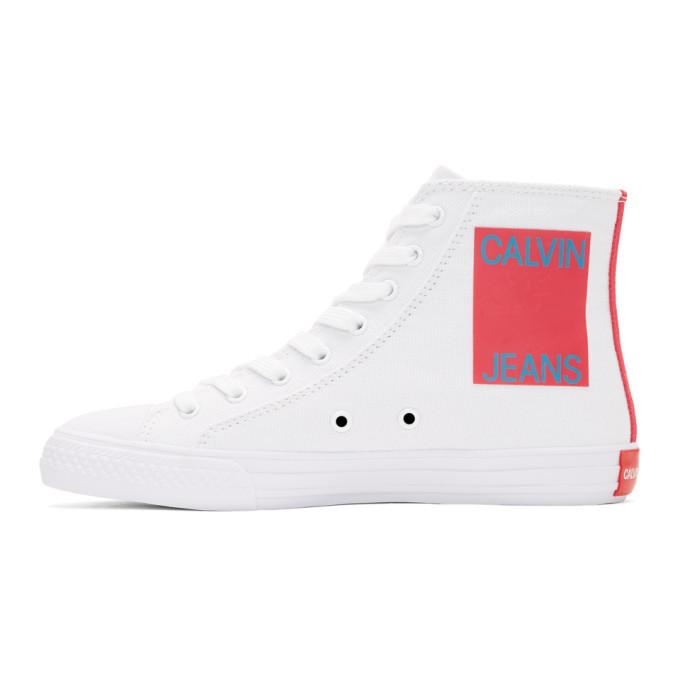 Calvin Klein 205W39NYC White Canvas