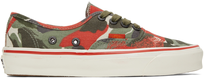 Photo: Vans Nigel Cabourn Edition OG Authentic LX Sneakers