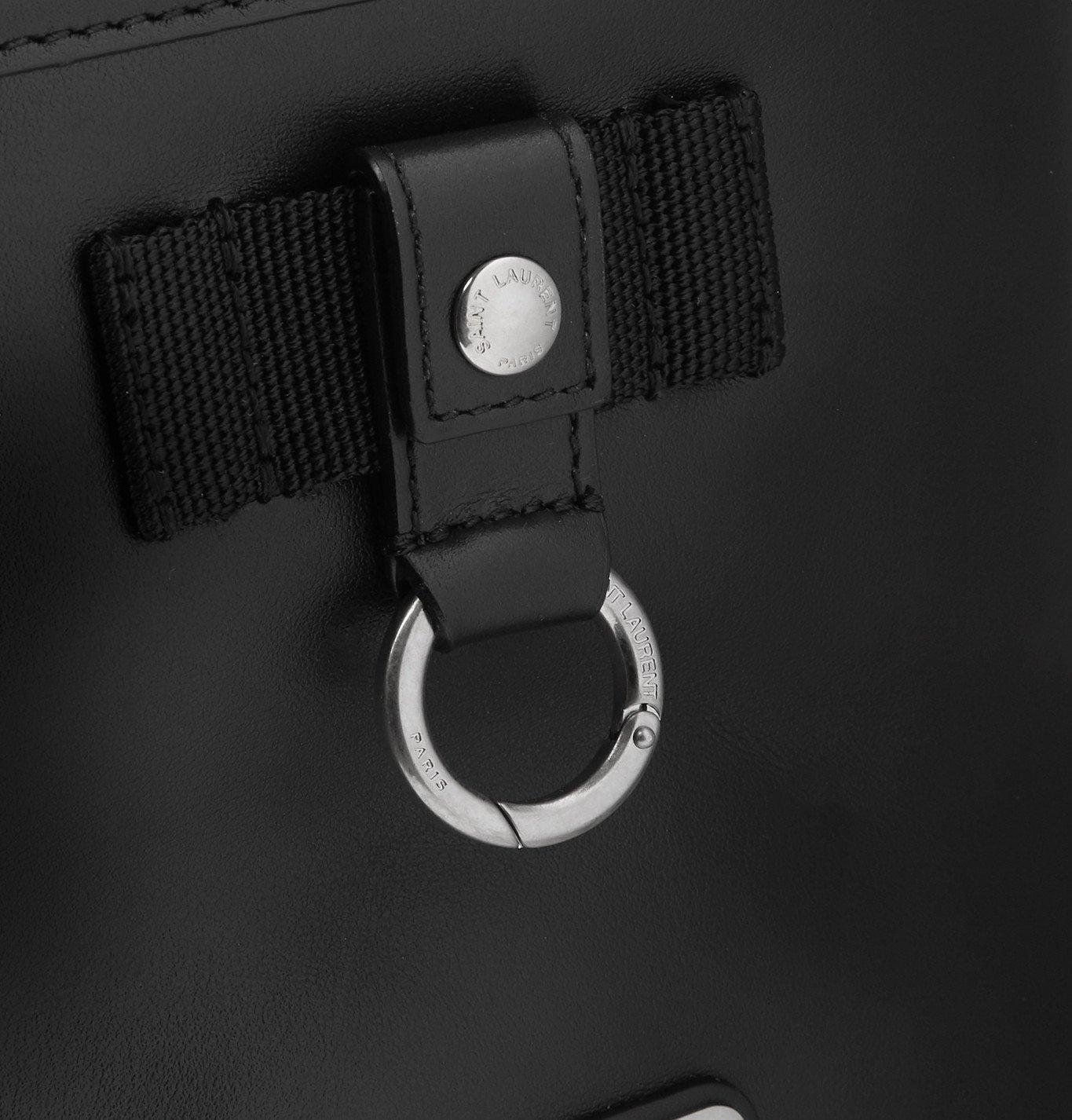 SAINT LAURENT - Rivington Leather Messenger Bag - Black