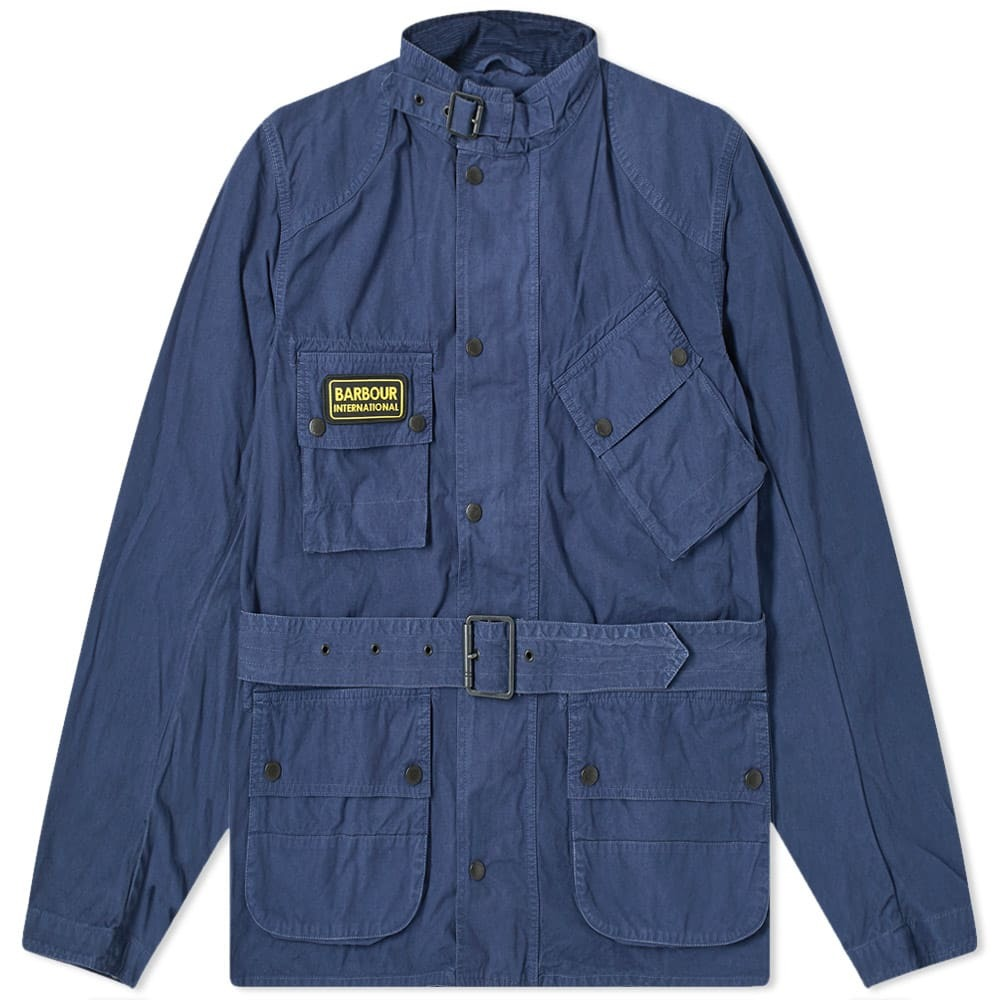 Photo: Barbour International Summer Washed A7 Casual Jacket