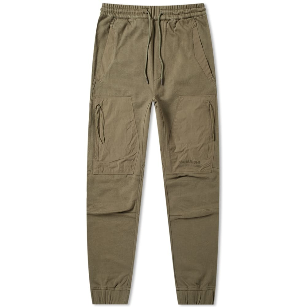 Photo: Maharishi Tech Sweatpant Maha Olive