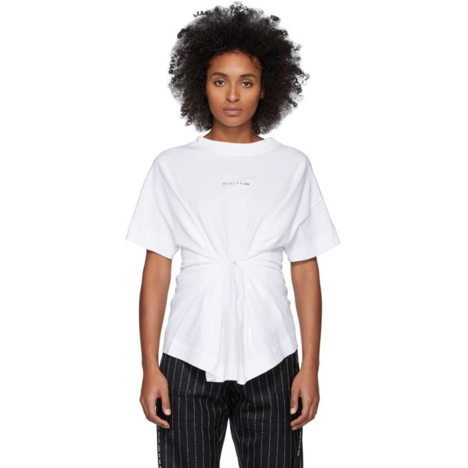 Photo: 1017 ALYX 9SM White Hook Short Sleeve T-Shirt
