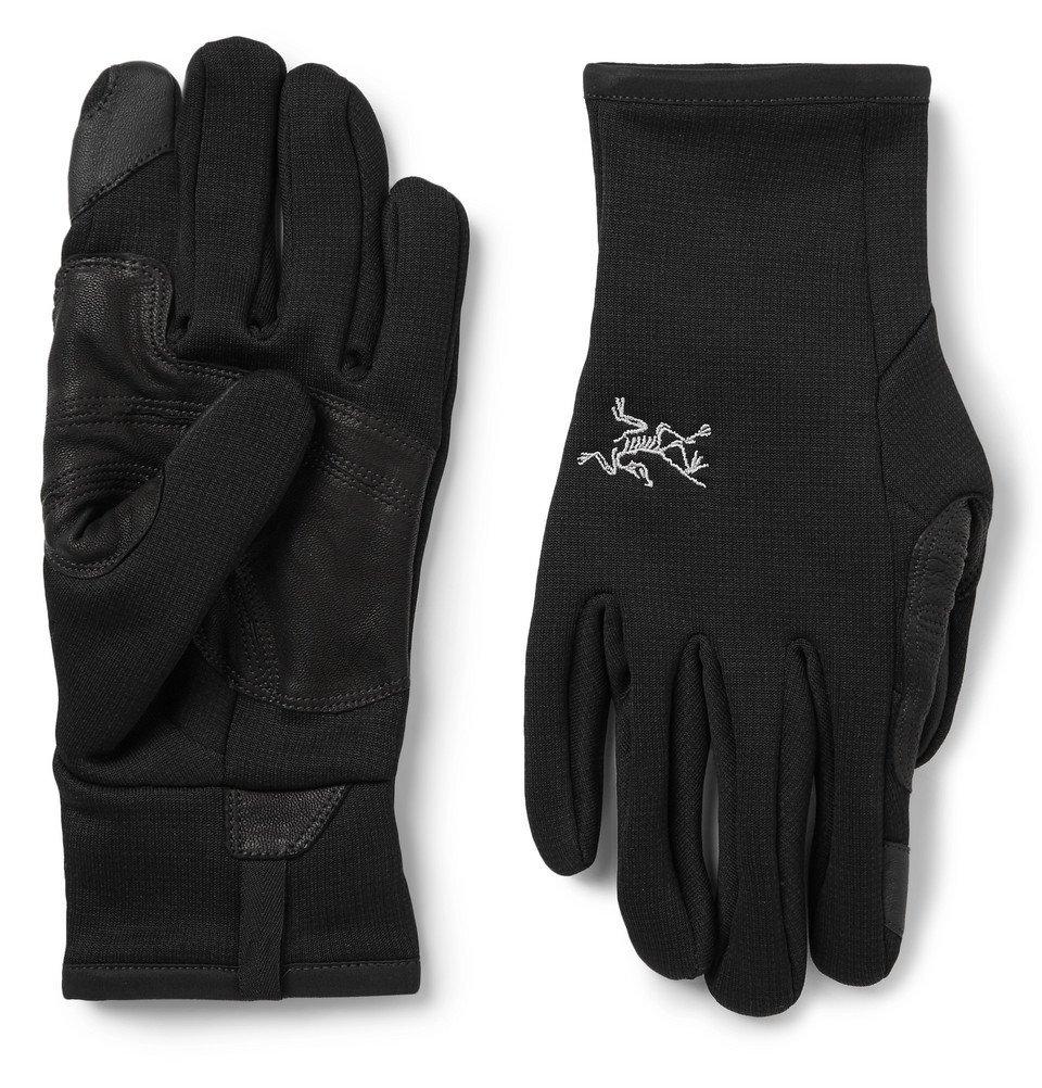 Photo: Arc'teryx - Rivet Touchscreen Polartec Power Stretch Fleece Gloves - Men - Black