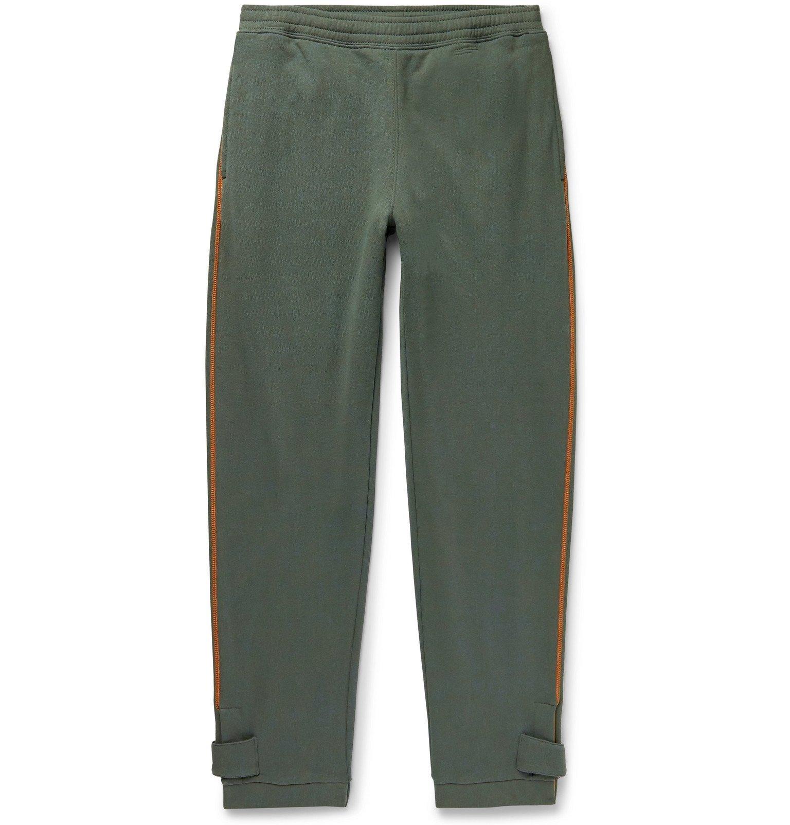 Photo: Loewe - Eye/LOEWE/Nature Fleece-Back Cotton-Jersey Sweatpants - Green