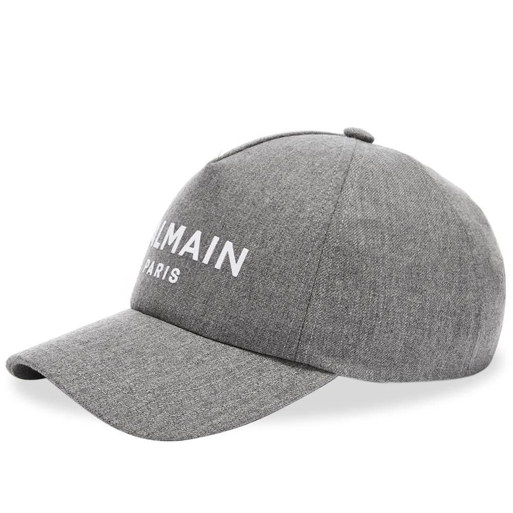 Photo: Balmain Wool Logo Cap
