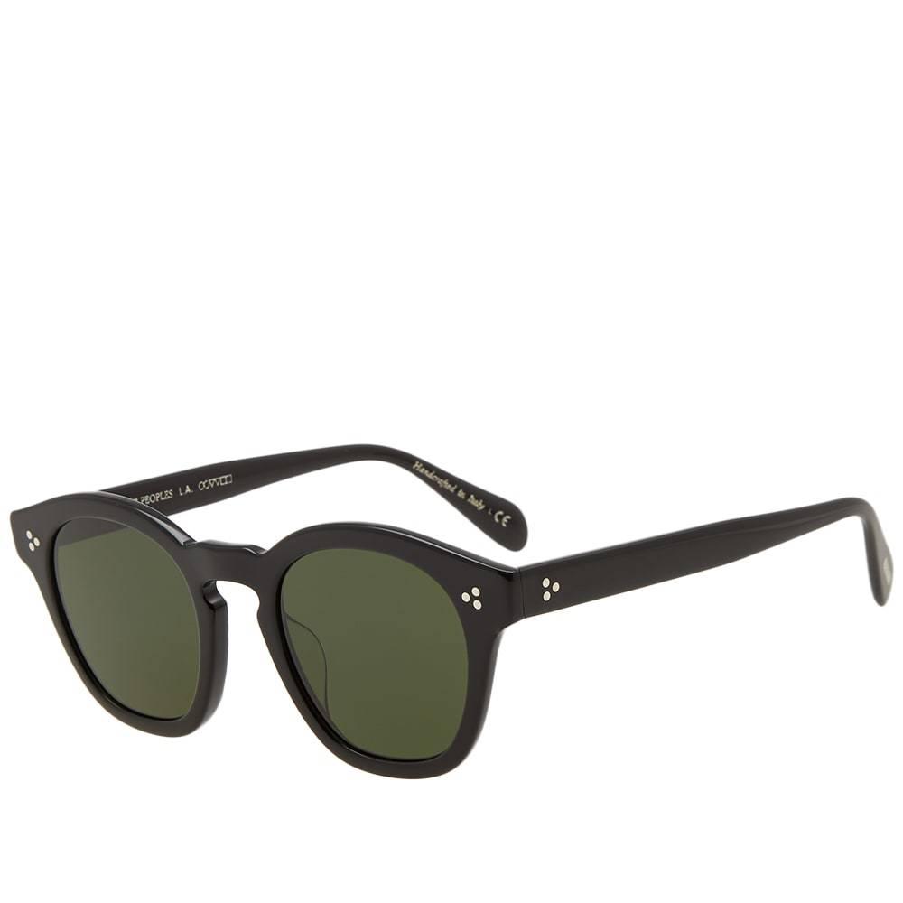 Oliver Peoples Boudreau L.A. Sunglasses Black