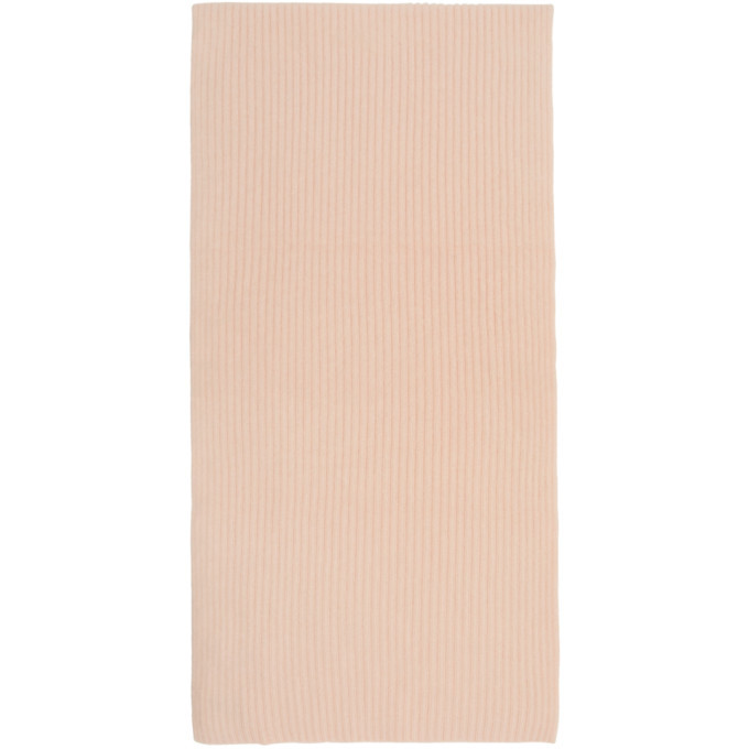 3.1 Phillip Lim Pink Oversized Wool and Mohair Scarf