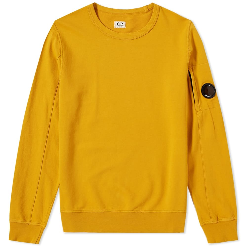 Photo: C.P. Company Arm Lens Crew Sweat Yellow