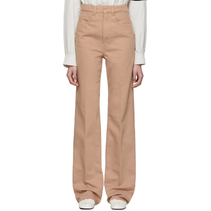 Photo: Lemaire SSENSE Exclusive Pink Straight Jeans
