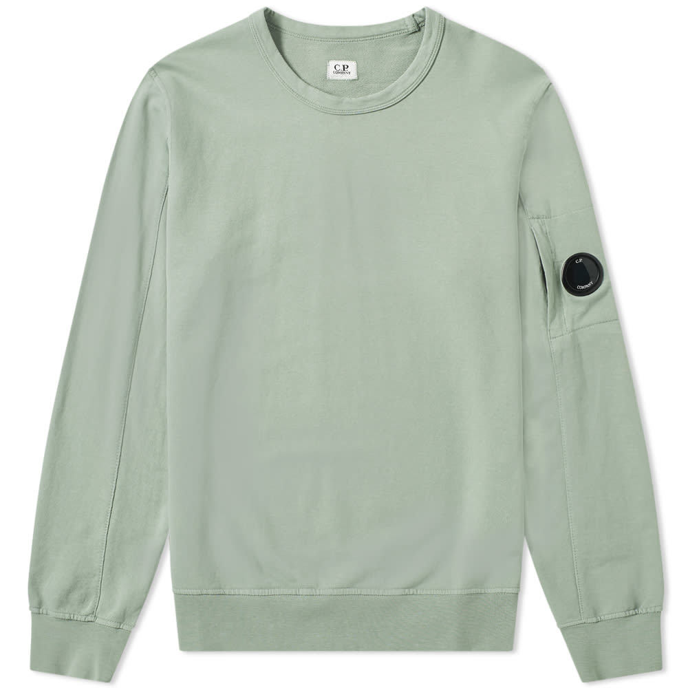 C.P. Company Light Fleece Arm Lens Crew Sweat