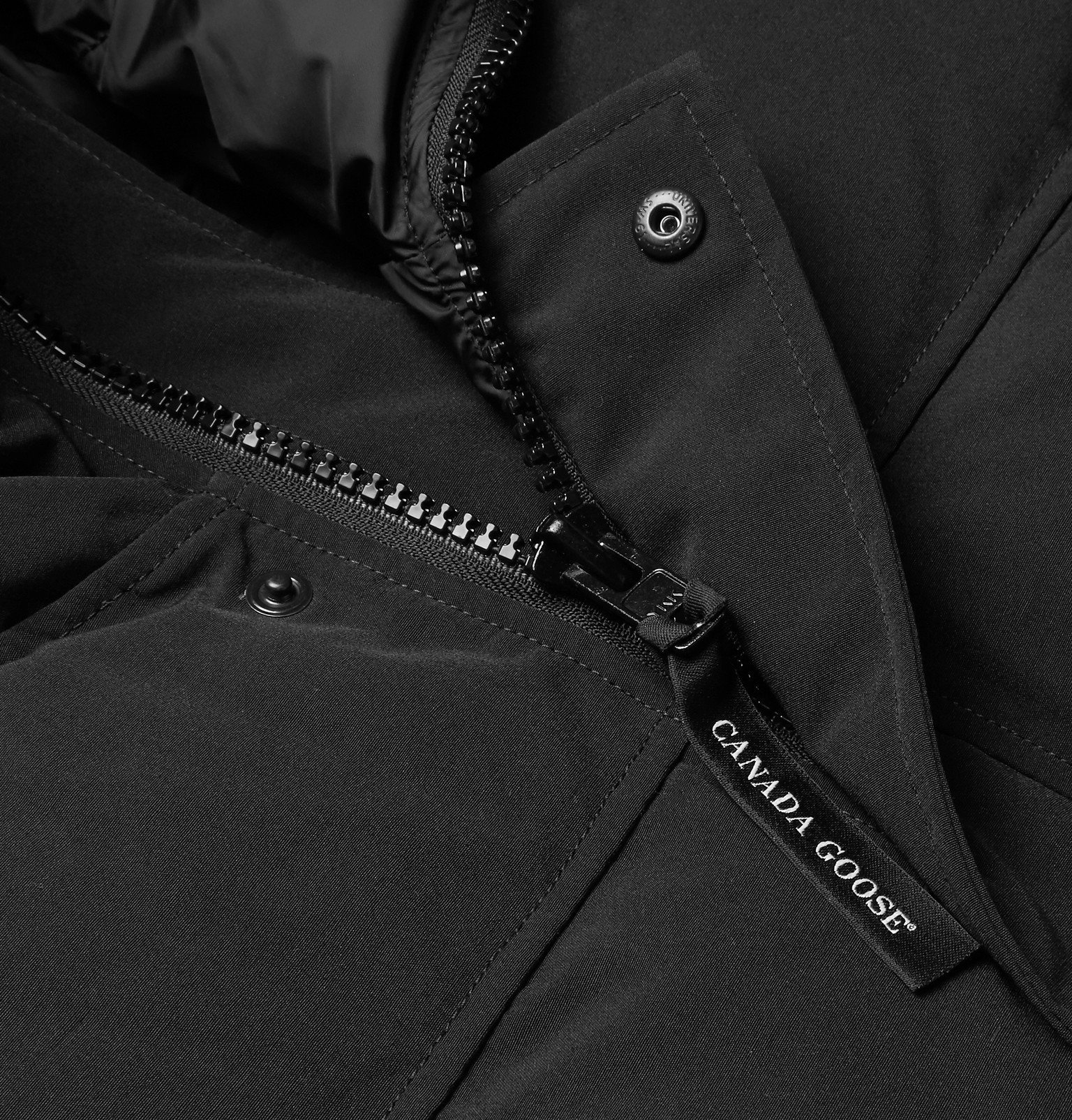 Canada Goose - Macmillan Quilted Shell Hooded Down Parka - Black