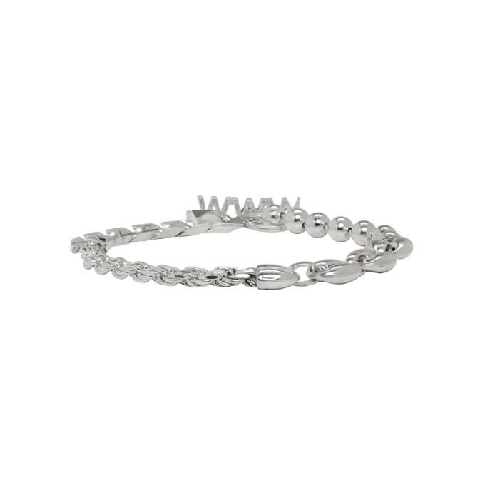 Photo: WWW.WILLSHOTT Silver Solid Bracelet