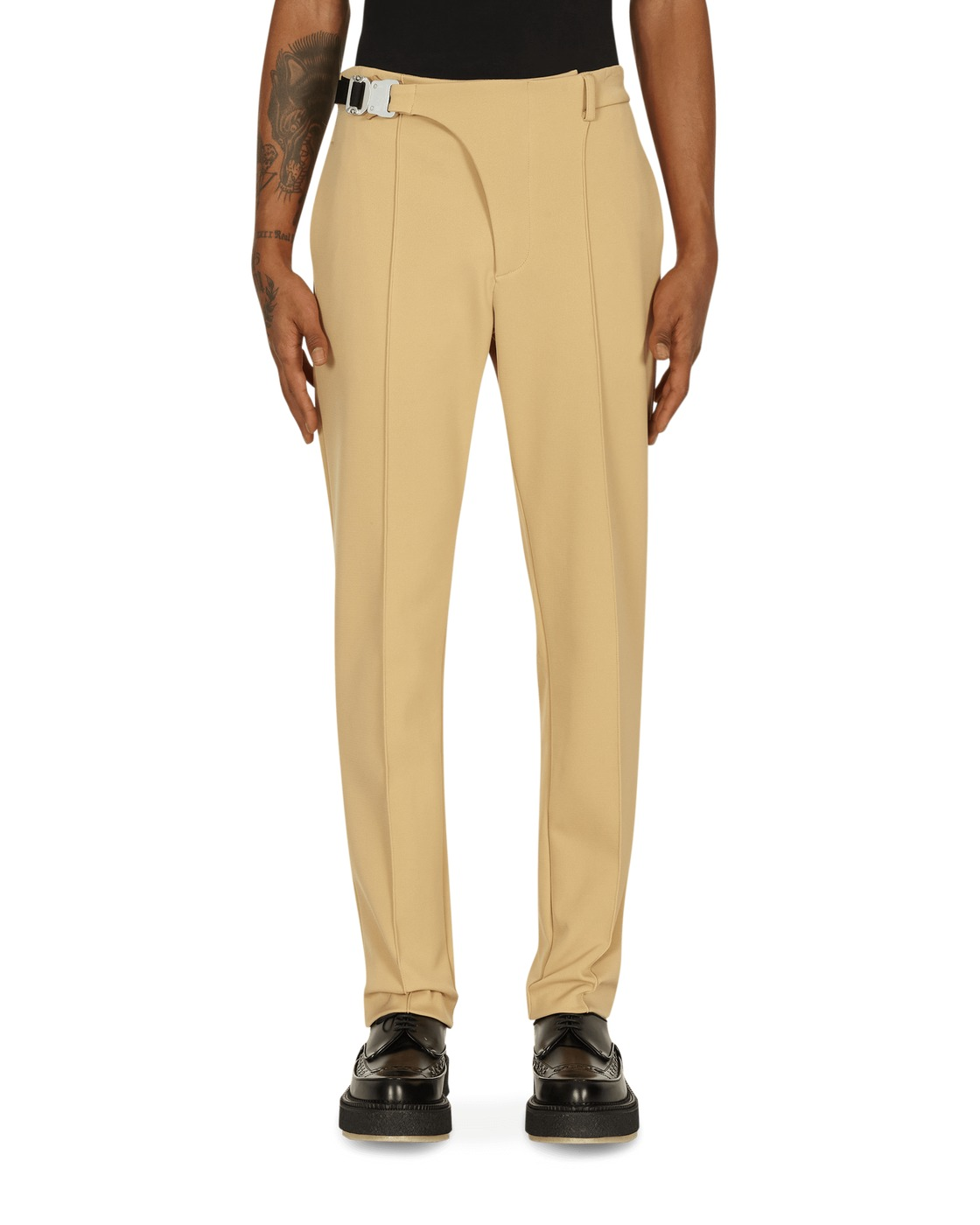 1017 Alyx 9sm Cresent Pants Champagne