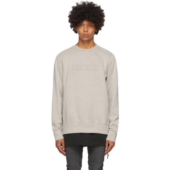 Ksubi Grey Sign of the Times Sweatshirt