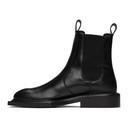 Martine Rose Black Hacienda Chelsea Boots