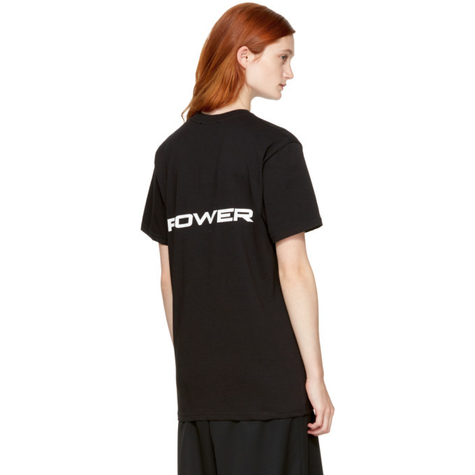 032c Black Power T-Shirt