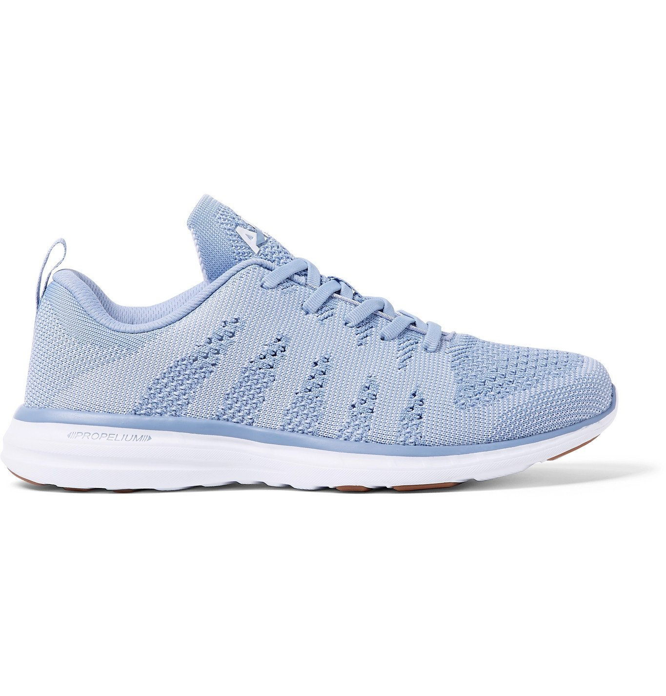 Photo: APL Athletic Propulsion Labs - Pro TechLoom Running Sneakers - Blue