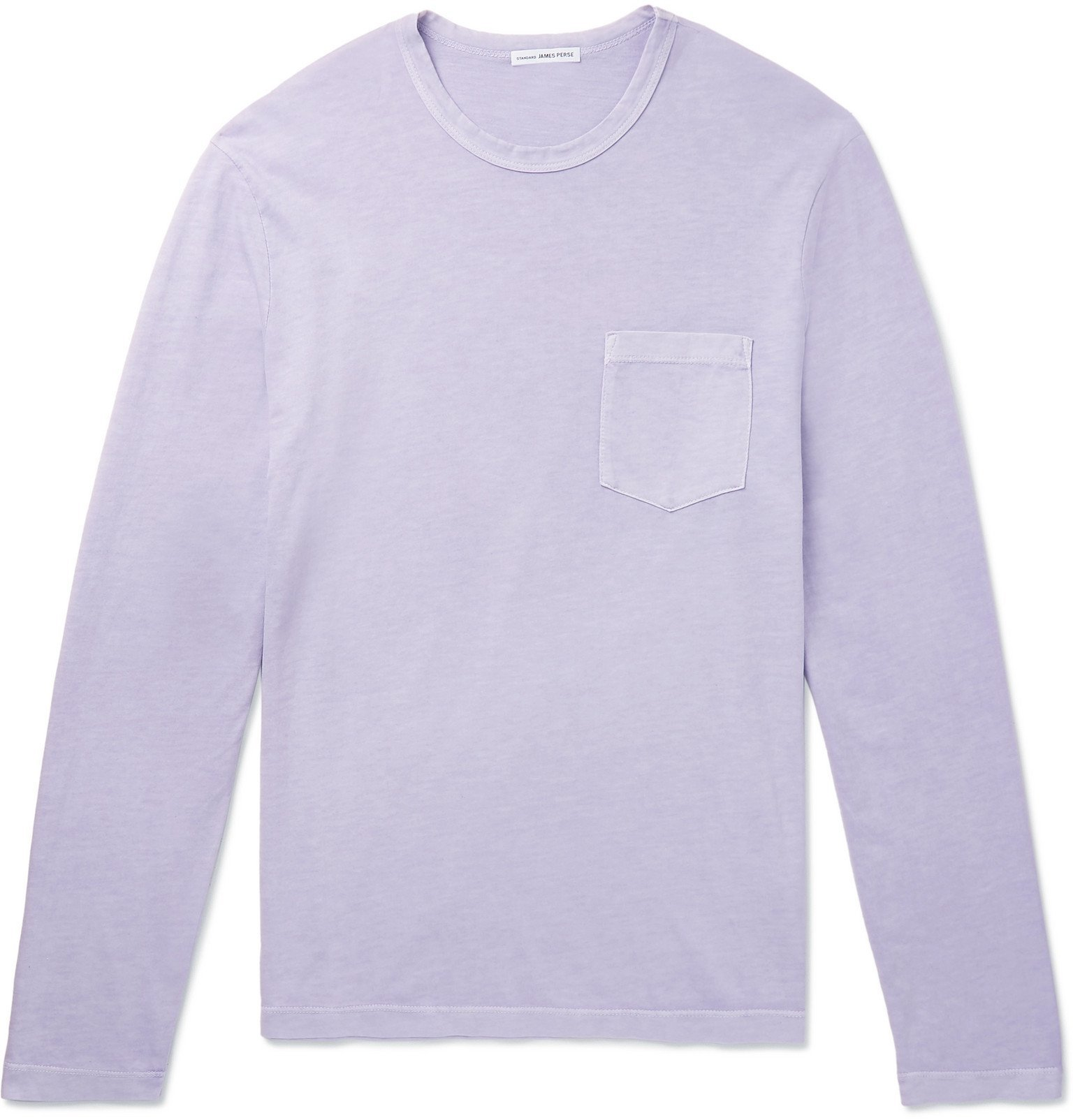 Photo: James Perse - Pima Cotton-Jersey T-Shirt - Purple