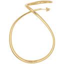 Sacai Gold Charlotte Chesnais Edition Maxi Looping Earring