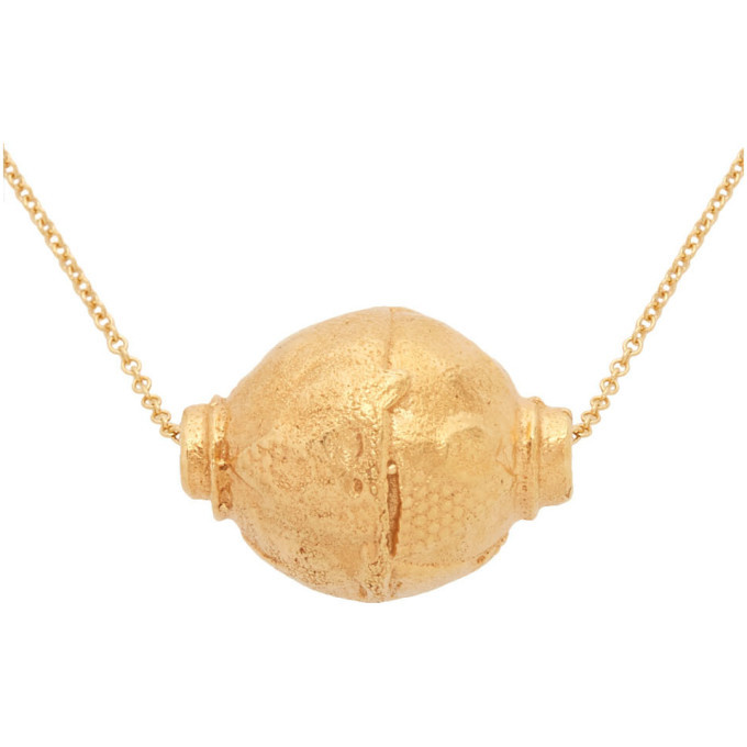 Alighieri Gold The Vessel of Memories Necklace