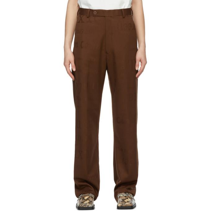 Photo: Martine Rose Brown Slate Trousers