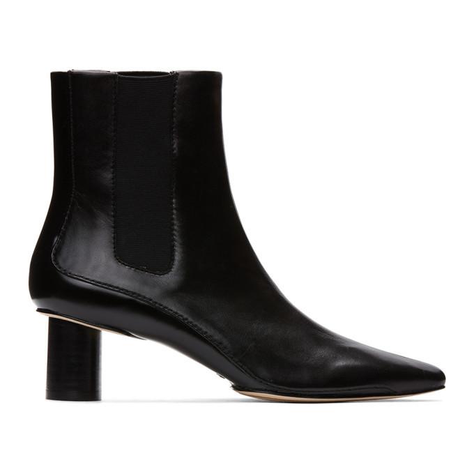 Photo: rag and bone Black Jet Chelsea Boots