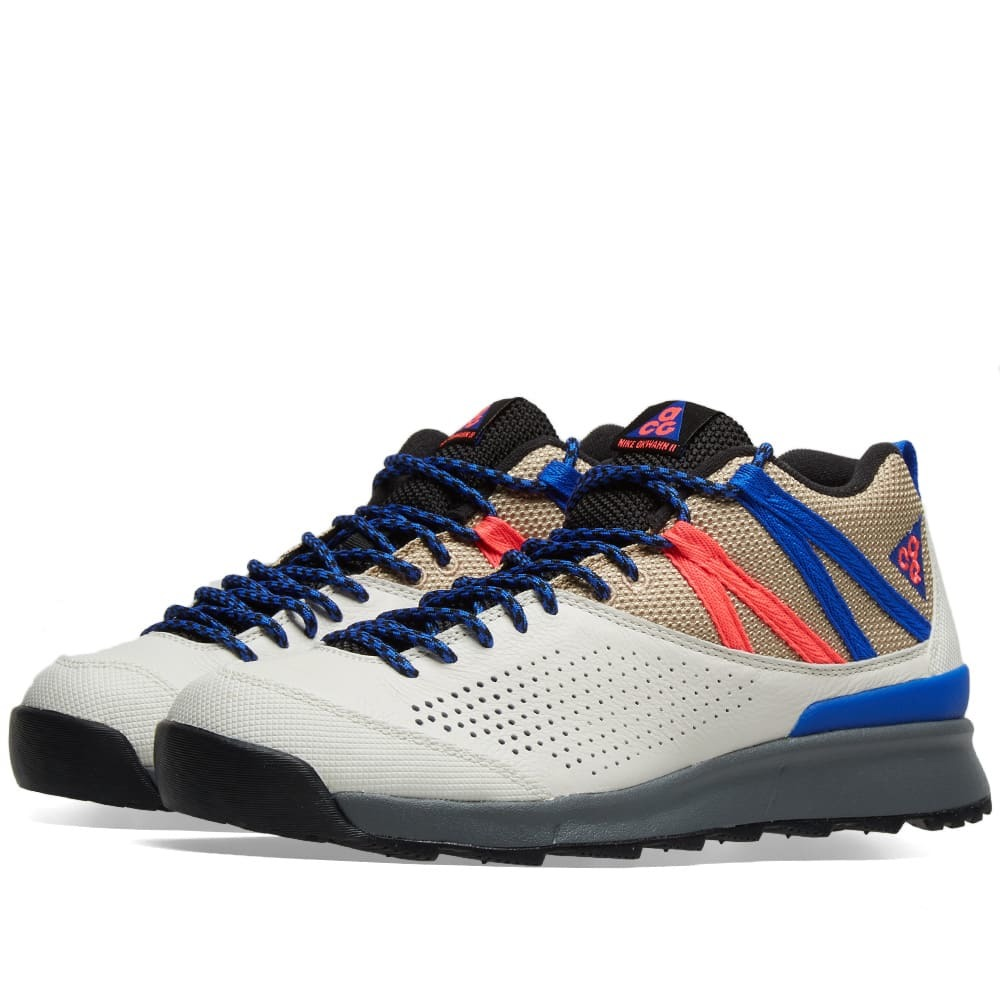 Photo: Nike ACG Okwahn II Sail, Racer Blue & Pink