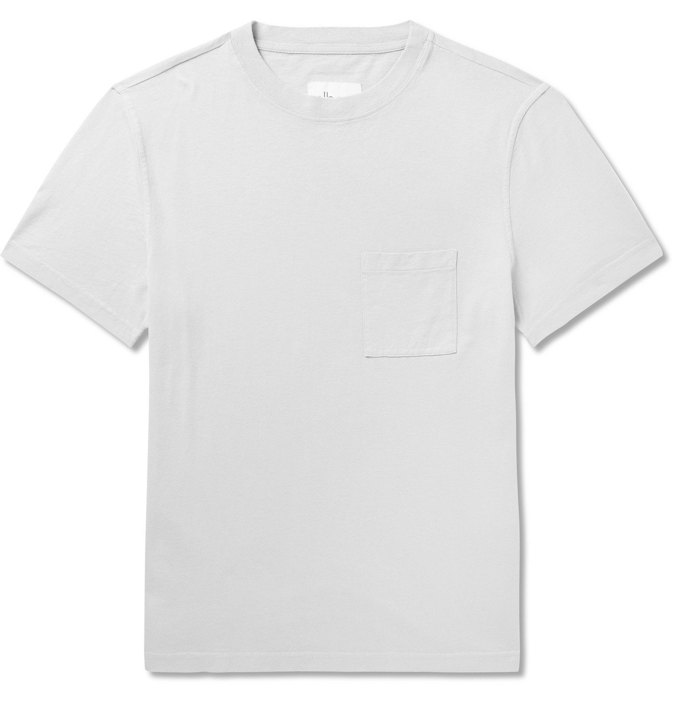 Photo: Albam - Workwear Cotton-Jersey T-Shirt - Gray