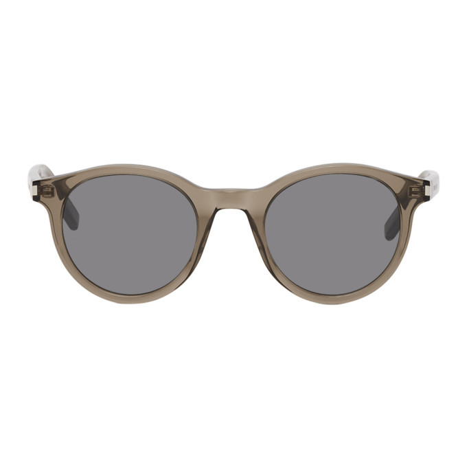 Photo: Saint Laurent Brown SL 342 Sunglasses